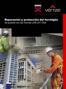 Catálogo Reparación y protección del hormigón